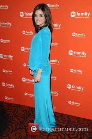 Lucy Hale ABC Family Upfront New York City, USA - 19.03.12