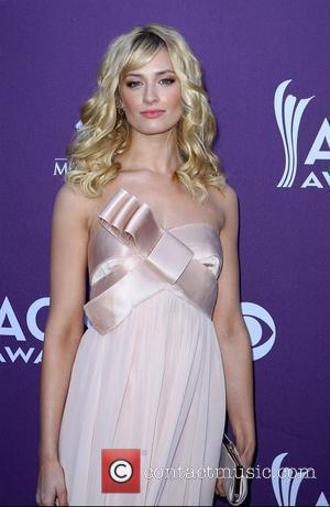 Beth Behrs 2012 ACM Awards (Academy of Country Music Awards) at the MGM Grand - Arrivals  Las Vegas, Nevada...