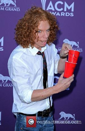 Carrot Top Scott Thompson 2012 ACM Awards (Academy of Country Music Awards) at the MGM Grand - Arrivals  Las...