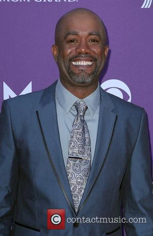 Darius Rucker 2012 ACM Awards (Academy of Country Music Awards) at the MGM Grand - Arrivals  Las Vegas, Nevada...