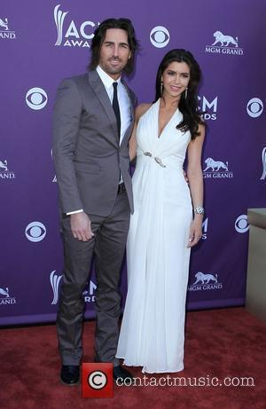 Jake Owen, Lacey Buchanan 2012 ACM Awards (Academy of Country Music Awards) at the MGM Grand - Arrivals  Las...