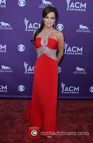Robin Meade 2012 ACM Awards (Academy of Country Music Awards) at the MGM Grand - Arrivals  Las Vegas, Nevada...