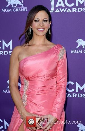 Sara Evans 2012 ACM Awards (Academy of Country Music Awards) at the MGM Grand - Arrivals  Las Vegas, Nevada...