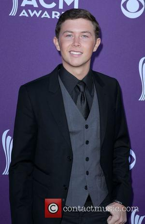 Scotty McCreery 2012 ACM Awards (Academy of Country Music Awards) at the MGM Grand - Arrivals  Las Vegas, Nevada...