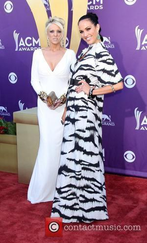 Guest and Tiffany Fallon 2012 ACM Awards (Academy of Country Music Awards) at the MGM Grand - Arrivals  Las...
