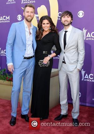 Lady Antebellum 2012 ACM Awards (Academy of Country Music Awards) at the MGM Grand - Arrivals  Las Vegas, Nevada...