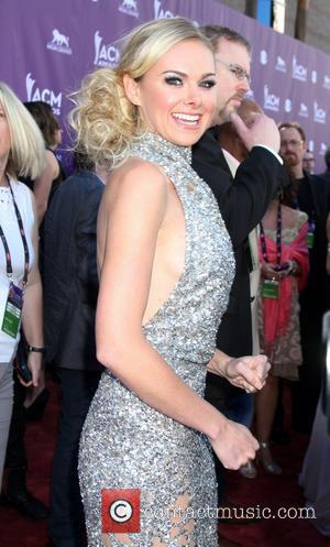 Laura Bell Bundy 2012 ACM Awards (Academy of Country Music Awards) at the MGM Grand - Arrivals  Las Vegas,...