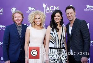 Little Big Town  2012 ACM Awards (Academy of Country Music Awards) at the MGM Grand - Arrivals  Las...