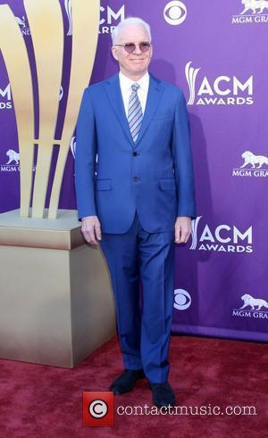 Steve Martin 2012 ACM Awards (Academy of Country Music Awards) at the MGM Grand - Arrivals  Las Vegas, Nevada...