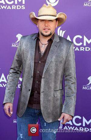 Jason Aldean 2012 ACM Awards (Academy of Country Music Awards) at the MGM Grand - Arrivals Las Vegas, Nevada -...