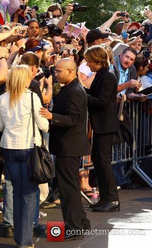 Keith Urban 2012 ACM Awards (Academy of Country Music Awards) at the MGM Grand - Outside Arrivals  Las Vegas,...