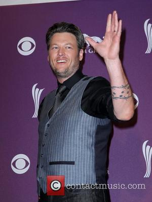 Blake Shelton 2012 ACM Awards (Academy of Country Music Awards) at the MGM Grand - Press Room  Las Vegas,...