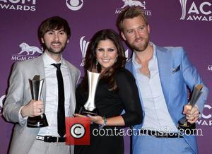 Lady Antebellum 2012 ACM Awards (Academy of Country Music Awards) at the MGM Grand - Press Room  Las Vegas,...