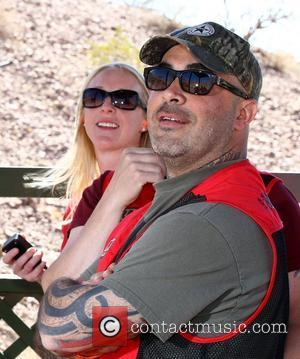 Aaron Lewis NRA Country ACM Celebrity Shoot at Desert Hills Shooting Club  Las Vegas, Nevada - 31.03.12