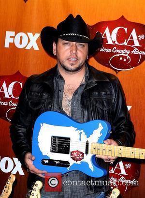 Jason Aldean 2011 American Country Awards at the MGM Grand Resort Hotel and Casino - Press Room  Las Vegas,...