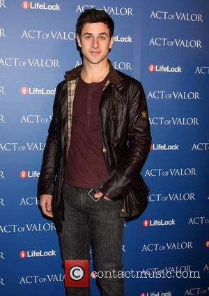 David Henrie The Los Angeles premiere of 'Act Of Valor' at the ArcLight cinema - Arrivals Los Angeles, California -...