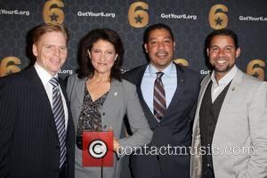 Ned Vaughn, Amy Aquino and Jon Huertas