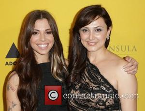 Christina Perri and Bita Daryabari 'Adopt The Arts' fundraiser for LAUSD elementary schools held at the Peninsula Hotel Los Angeles,...