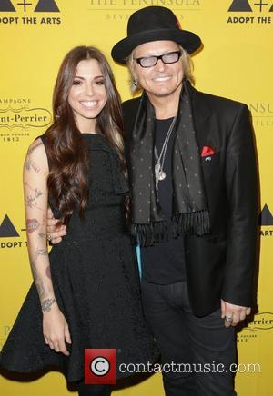 Christina Perri and Matt Sorum 'Adopt The Arts' fundraiser for LAUSD elementary schools held at the Peninsula Hotel Los Angeles,...