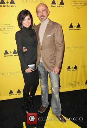 Shaun Toub and wife 'Adopt The Arts' fundraiser for LAUSD elementary schools held at the Peninsula Hotel Los Angeles, California...