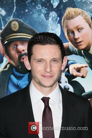Jamie Bell,  at the New York premiere of 'The Adventures of Tintin' at the Ziegfeld Theatre. New York City,...