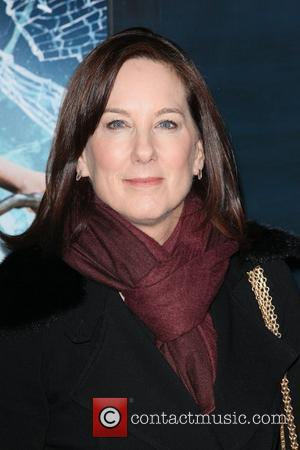 Producer, Kathleen Kennedy,  at the New York premiere of 'The Adventures of Tintin' at the Ziegfeld Theatre. New York...