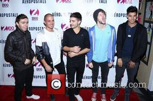 Tom Parker, Max George, Jay Mcguiness, Nathan Sykes, Siva Kaneswaran and The Wanted