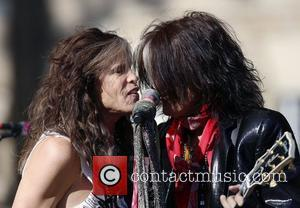 Aerosmith's Steven Tyler, Joe Perry, Commonwealth Ave and Boston
