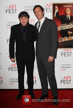 Sacha Gervasi, James D'arcy and Grauman's Chinese Theatre