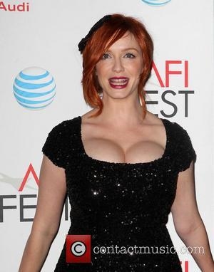 Christina Hendricks  AFI FEST - 'Ginger & Rosa' Special Screening held at Grauman's Chinese Theatre - Arrivals Hollywood, California...