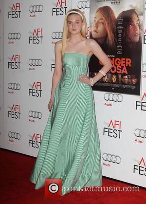 Elle Fanning at the AFI Festival