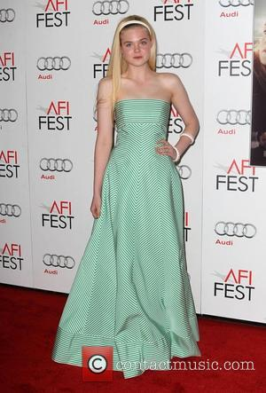 Elle Fanning and Grauman's Chinese Theatre