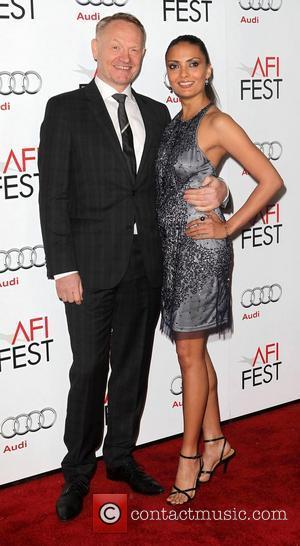 Jared Harris, Allegra Riggio and Grauman's Chinese Theatre