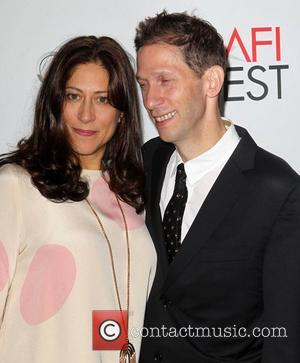 Tim Blake Nelson, Lisa Benavides and Grauman's Chinese Theatre