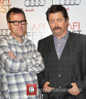 Bob Byington and Nick Offerman