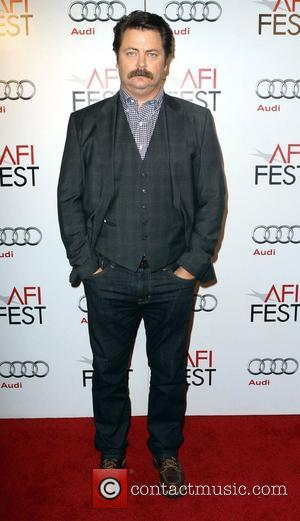 Nick Offerman  AFI Fest - 'On The Road' - Centerpiece Gala Screening - Arrivals Los Angeles, California - 03.11.12