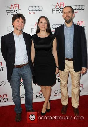 Ken Burns, Sarah Burns, David Mcmahon and Egyptian Theater