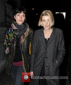 Agyness Deyn,  leaving Trafalgar Studios. London, England - 12.03.12