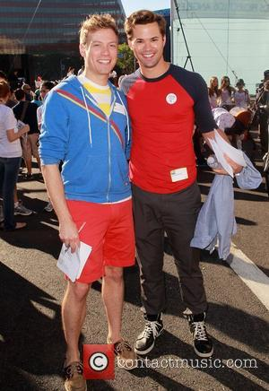 Barrett Foa and Andrew Rannells