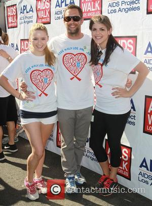 Mike Faiola, Greer Grammer, Molly Tarlov    28th Annual AIDS Walk Los Angeles in West Hollywood Los Angeles,...