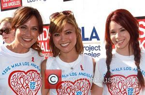Nikki Deloach, Jessica Lu and Jillian Rose Reed
