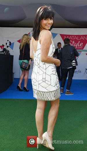 Roxanne Pallett Ladies Day at the John Smith Grand National meeting at Aintree Liverpool, England - 13.04.12