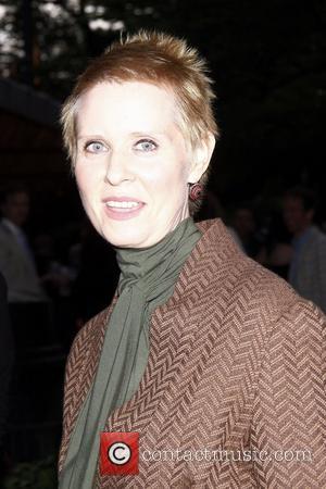 Cynthia Nixon   50th Anniversary Gala to Honour Al Pacino held at the Delacorte Theater in Central Park, Manhattan...