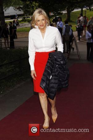 Diane Sawyer   50th Anniversary Gala to Honour Al Pacino held at the Delacorte Theater in Central Park, Manhattan...