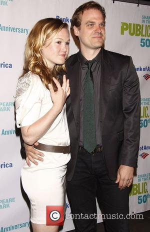 Julia Stiles and David Harbour 50th Anniversary Gala to Honour Al Pacino held at the Delacorte Theater in Central Park,...