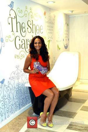 Alesha Dixon, Ireland, The Arnotts Shoe Garden, Arnotts and Dublin
