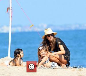 Alessandra Ambrosio and Malibu Beach