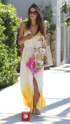 Alessandra Ambrosio and West Hollywood