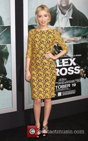 Christian Serratos Premiere of Summit Entertainment's 'Alex Cross' at the ArcLight Cinemas Cinerama Dome - Arrivals Hollywood, California - 15.10.12