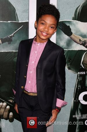 Yara Shahidi Premiere of Summit Entertainment's 'Alex Cross' at the ArcLight Cinemas Cinerama Dome - Arrivals Hollywood, California - 15.10.12